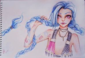 Traditional Jinx by BlueLov3