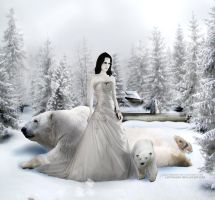 Snow White N the 3 Bears by LadyShard