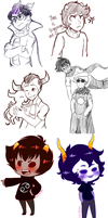 Homestuck Requests Dumplr by Gilzean