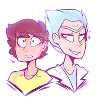 .: Rick and Morty :. by MissFemke
