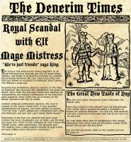 Denerim times:Elf Mage Scandal by sqbr