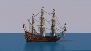 Roman Polanski Pirates Galleon Neptune by Sillouete