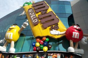 M and Ms world by wingsoverdeath