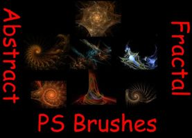 Abstract Fractal PS Brushes by manoluv