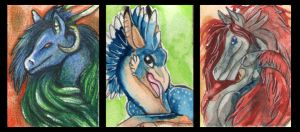 ACEO Amadoodles by Wyvernadas