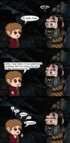 HOBBIT: Don't Speak by Kumama