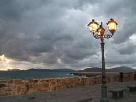 Street lamp by davdiana