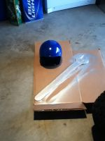 WIP: Box Art Megaman Helmet and Cagliostro Wrench by BigAl2k6