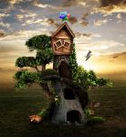 Home-sweet-home by Enlal
