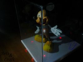 Mickey Mouse Papercraft by Prife7