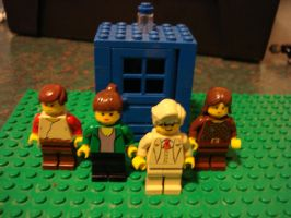 LEGO Doctor Who: Five and Co. by BadWolf42