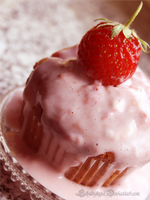 Strawberry Cupcake by ElyneNoir