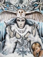 Snow Queen by MarjorieCarmona