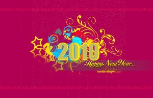 Happy New Year 2010 by madexdesigns