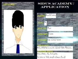 Sidus Academy OC: Arnold Irving by FallenTributes