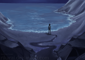 Background Practice: Lakeside by rikarai