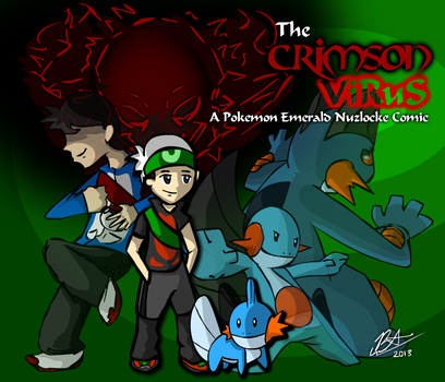 The Crimson Virus - Cover Page by AranOcean