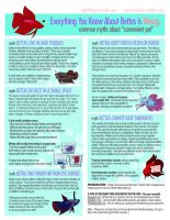 Common Betta Myths by daPatches