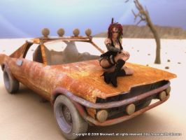 Wasteland Wench by moonwolf-95