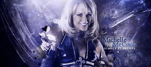 Michelle McCool Banner by Cool119