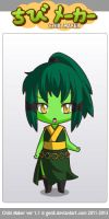 Chibi - Ethelinda by shadow-bahar