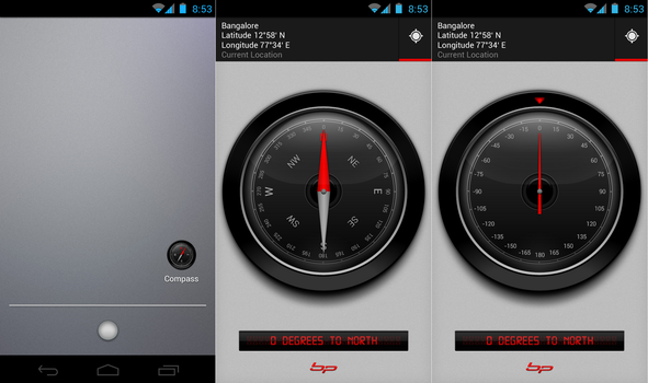 Compass 2.0 UI by bharathp666