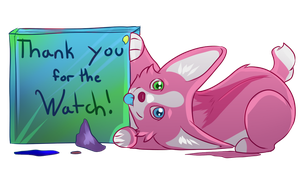 Thanks for the watch by Kuu-Nara