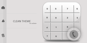 Clean Theme for exDialer by Karsakoff
