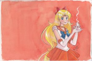 Sailor Venus by sugarfairy7