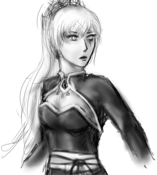 Weiss (Winter Contest prize for Asmo-dA) by JayEmEl
