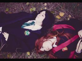 Severus and Lily ~ Fall asleep by OriyaPrince