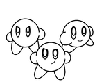 Star-Squad - Kirby base by DummyHeart