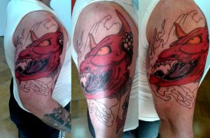 Hannya Mask, session 2 by flaviudraghis