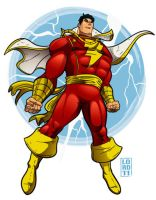 SHAZAM by lordmesa