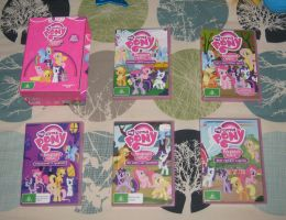Pony DVDs: Season One by CheerBearsFan