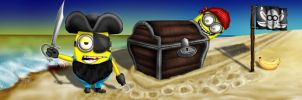 Minion Treasure Island by WolfBloodStudios