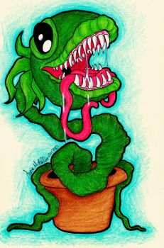 Plant Monster by LadyRavenShadow