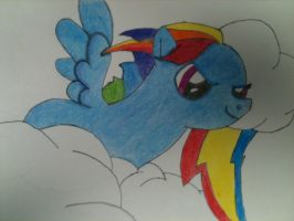 Dash In the sky -Lvl.1 color- by Dreadmaster231