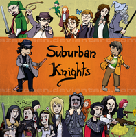 Suburban Knights by szarosen