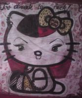 hello kitty by PsYcHoGrEenMoNsTeR