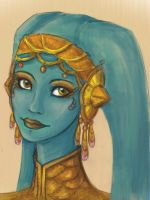 Twi'lek girl by mary90