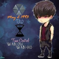 EXO-M Tao Chibi Edit [PNG] by xElaine