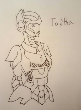 Talitha request by DomoArigatoMrRobot-o