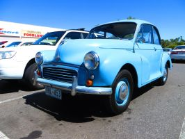 1950s Morris Minor 1000 by ryanthescooterguy