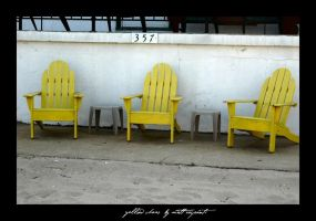 yellow chairs by fightingtears
