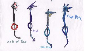 Keyblades 2 by Xelku9
