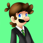 Just Luigi  by raygirl12