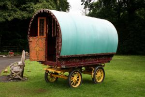 Gypsy Vardo/Caravan by OghamMoon