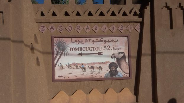 Road sign in Zagora by Pit7