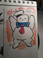 Stay Puft and Cute by ChibiCelina